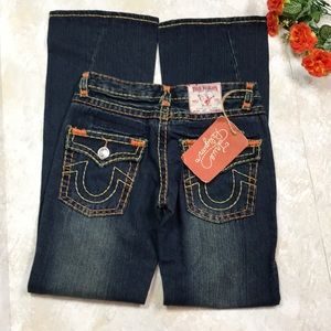 TRUE RELIGION JOEY HERITAGE BIG T COLOR LT BAJA 30